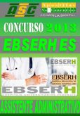 Apostila Concurso Ebserh ES Assistente Administrativo 2013