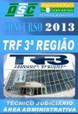 Apostila Concurso TRF 3 Regiao Tecnico Judiciario Area Adm