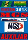 Apostila Concurso MGS Auxiliar 2013