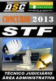 Apostila Concurso STF Tecnico Judiciario Area Adminis
