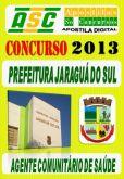 Apostila Prefeitura Jaragua Do Sul SC Ag Comunitario Saude