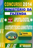 Apostila Ministerio da Fazenda Assistente Tecnico 2014