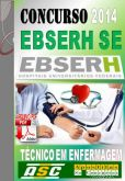 Apostila Concurso Ebserh SE Tecnico Em Enfermagem 2014 HU