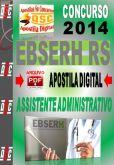 Apostila Ebserh RS Assistente Administrativo HUSM UFSM