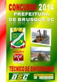 Apostila Prefeitura Brusque SC Tecnico Em Enfermagem 2014