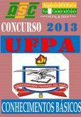 Apostila Concurso UFPA Conhecimentos Basicos