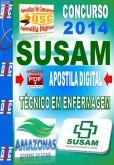 Apostila Concurso Susam AM Tecnico de Enfermagem 2014