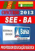Apostila Concurso SEE BA 2013 Professor Educacao Basica