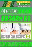 Apostila Concurso Ebserh ES Tecnico de Enfermagem 2013